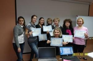 Выпуск первой группы по направлению «Программные продукты для онлайн-презентаций и управления обучением»